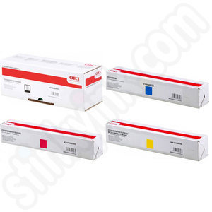 Multipack of Oki 44469803-6 Toner Cartridges