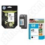 Multipack of HP 45 & 23 Ink Cartridges