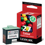 Lexmark 27 Colour Ink Cartridge