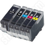 Multipack of Compatible Canon PGi-5 and CLi-8 ink cartridges