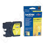 High Capacity Brother LC1100 Yellow Ink