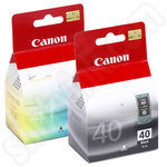 Twinpack of PG-40 and CL-41 ink cartridges