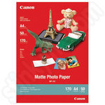 Canon MP-101 Matte Photo Paper - A4 sized with 50 Sheets
