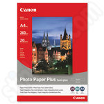 Canon SG-201 A4 Semi-Gloss Photo Paper - 20 Sheets