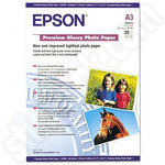 Epson A3 Premium Glossy Photo Paper - 20 sheets