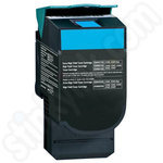 Remanufactured High Capacity Lexmark C54 Cyan Toner