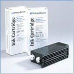 Original Pitney Bowes Ink-Cartridge blue For 15.000 Pages (620-1BI)