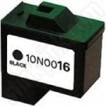Refilled Lexmark 16 Black ink cartridge