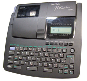 Brother P-Touch 540 Label Cassettes