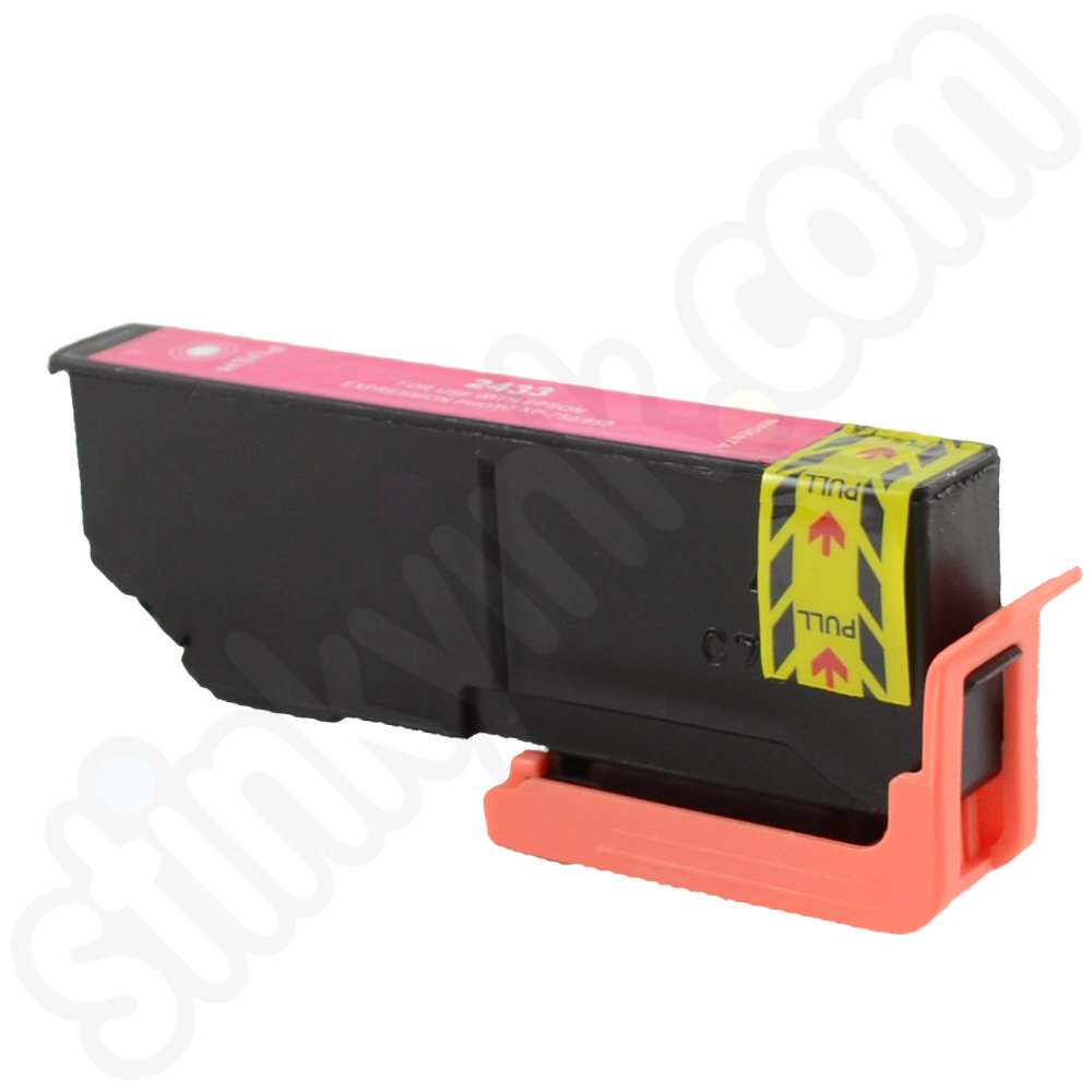 GENUINE EPSON ELEPHANT SERIES LIGHT MAGENTA INK CARTRIDGE EPSON 24 C13T24264010