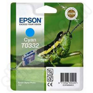 Epson T0332 Cyan Ink Cartridge