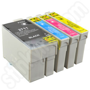 multipack of compatible epson 27xl ink cartridges. Black Bedroom Furniture Sets. Home Design Ideas