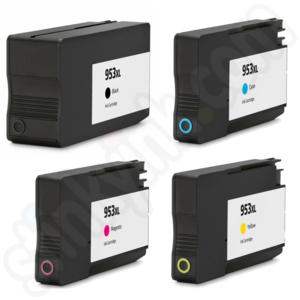 רק החוצה HP Officejet Pro 8710 Ink Cartridges | Stinkyink.com SU-04