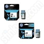 Twinpack of HP 29 & 49 Ink Cartridges