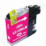 Compatible High Capacity Brother LC125 Magenta Ink Cartridge