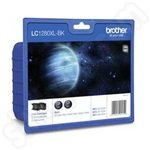 Twinpack of Brother LC1280XL Black Ink Cartridges