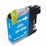 Compatible Brother LC123 Cyan Ink Cartridge