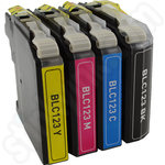 Multipack of Compatible Brother LC123 Ink Cartridges