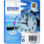 High Capacity 3-Colour Multipack of Epson 27XL Inks