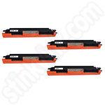Compatible Multipack of HP 130A Toner Cartridges