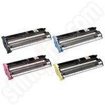Remanufactured Multipack of Epson S050033-6 Toner Cartridges