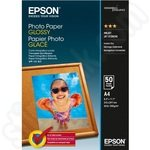 Epson A4 Glossy 200gsm Photo Paper - 50 Sheets