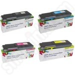 Compatible Multipack of Premium Crystal Wizard 593-11119-22 XXL Toner Cartridges
