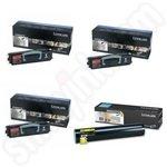 Multipack of High Capacity Lexmark 0X945X2 Toner Cartridges