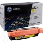 HP 653A Yellow Toner Cartridge
