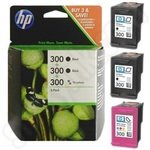 Triplepack of HP 300 Ink Cartridges
