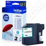 High Capacity Brother LC225 Cyan Ink Cartridge