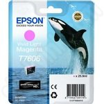 Epson T7606 Vivid Light Magenta Ink Cartridge