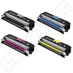 Multipack of High Capacity Remanufactured Konica Minolta A0V30 Toner Cartridges