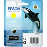 Epson T7604 Yellow Ink Cartridge