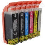 Compatible Multipack of Canon PGi-550 and CLi-551 XL Ink Cartridges + Grey Ink Cartridge