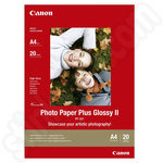 Canon PP-201 A4 Photo Paper Plus Glossy II - 20 Sheets