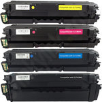 Multipack of High Capacity Compatible Samsung CLT-506L Toner Cartridges