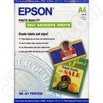 Epson Self Adhesive A4 Matte Photo Paper 10 Sheets