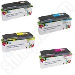 Premium Multipack of Premium Crystal Wizard Dell 593-BBB Toner Cartridges
