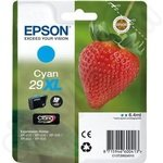 High Capacity Epson 29XL Cyan Ink Cartridge