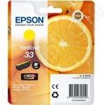 Epson 33 Yellow Ink Cartridge