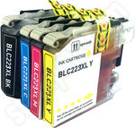 Compatible Multipack of Brother LC223 Ink Cartridges