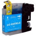 Compatible High Capacity Brother LC225 Cyan Ink Cartridge