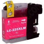 High Capacity Compatible Brother LC225 Magenta Ink Cartridge