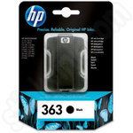 Genuine HP 363 Black ink cartridge