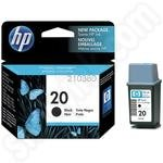 HP 20 Black ink cartridge