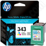 HP 343 Tri-Colour Ink Cartridge