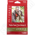 Canon PP-201 6x4 Photo Paper Plus Glossy II 50 Shts 265GSM