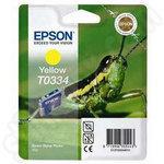 Epson T0334 Yellow Ink Cartridge