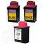 Multipack of Refilled Lexmark 70 and 80 Inks